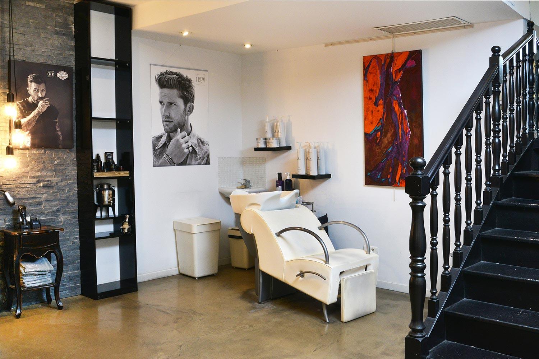 Station de lavage des cheveux